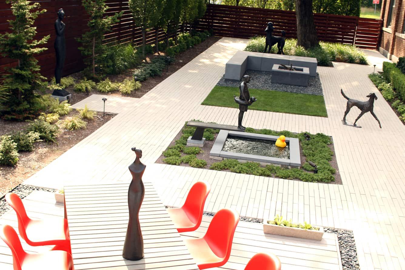 Sculpture Garden Corbin Bronze