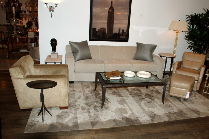 Fleur Table and Ravenna Coffee Table