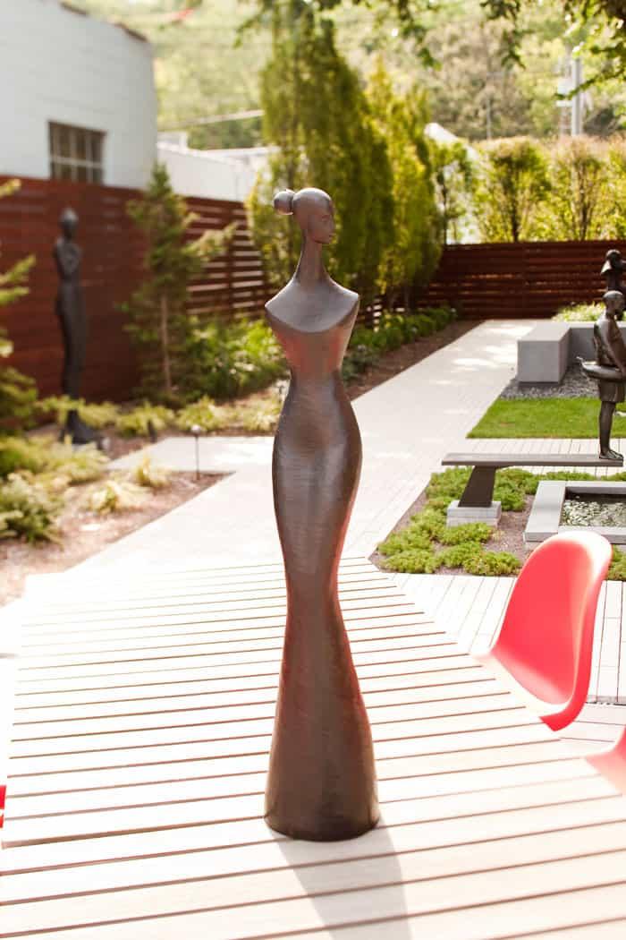Woman In Gown Corbin Bronze