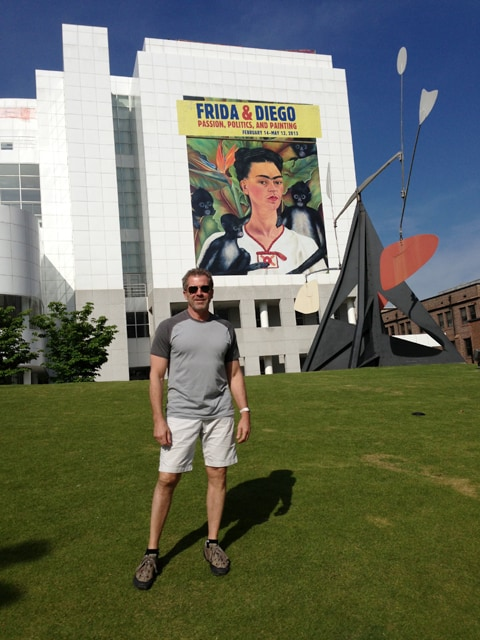 The High Museum featuring Frida Kahlo and Diego Rivera retrospective...spectacular