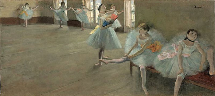 EdgarDegas_DancersintheClassroom_1880