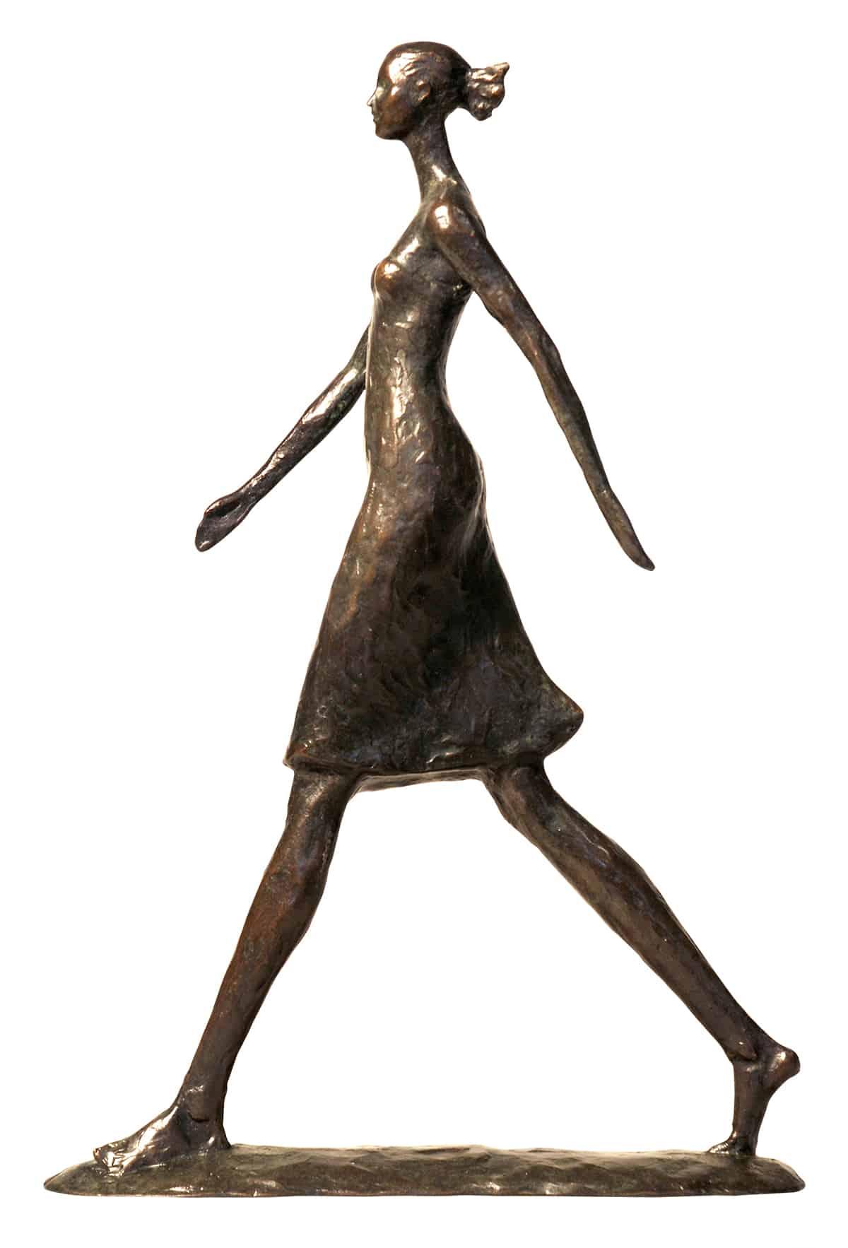 FemaleWalkingMaquette