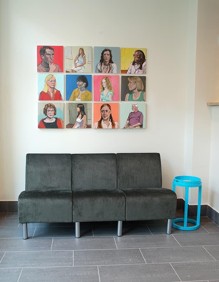 Portraits_installation